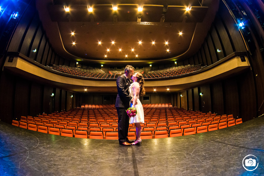 Hochzeitsfotograf Marl | Theater Marl