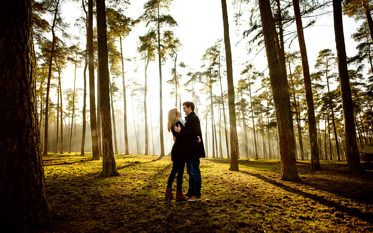Engagement-Shooting vom Hochzeitsfotograf