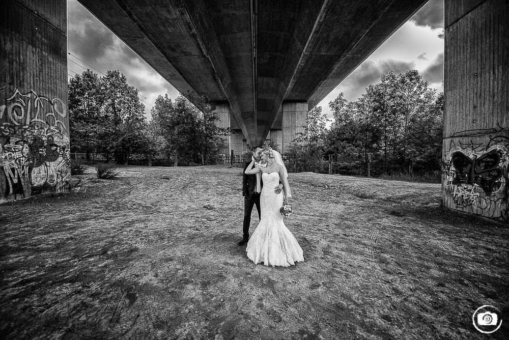 Fabriken, Brücken und Mühlen – Eine Hochzeit in Düsseldorf und Erkrath