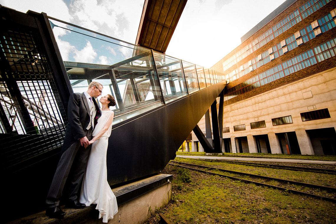 Brautpaar Zeche Zollverein Essen