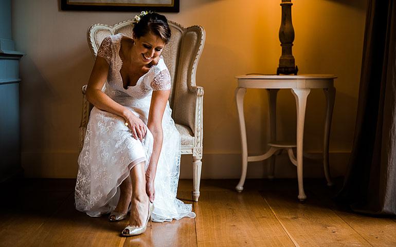 Braut Getting-Ready Hochzeitsfotografie
