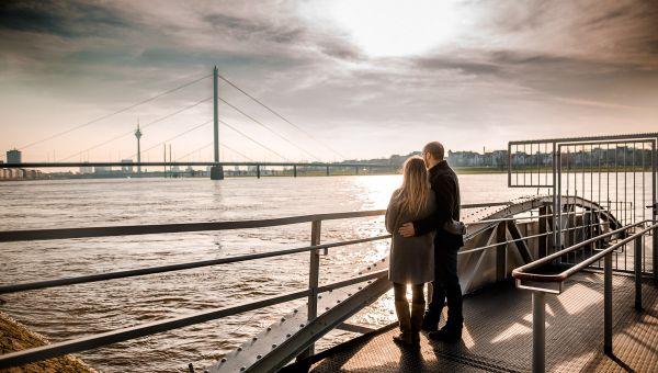 Engagement-Shooting – Rheinterrassen Düsseldorf