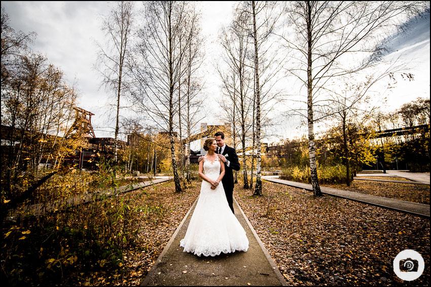 After-Wedding-Shooting Zeche Zollverein - Hochzeit Essen 10