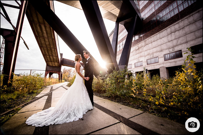 After-Wedding-Shooting Zeche Zollverein - Hochzeit Essen 2