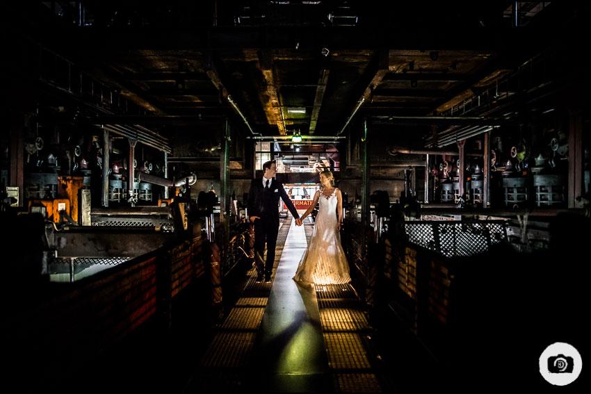 After-Wedding-Shooting Zeche Zollverein - Hochzeit Essen 18