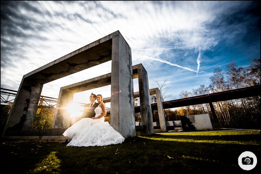 After-Wedding-Shooting Zeche Zollverein - Hochzeit Essen 7