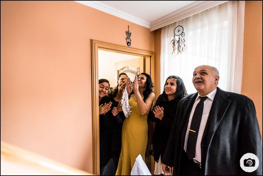 Türkische Hochzeit im Winter - Hochzeitsfotograf Essen 1
