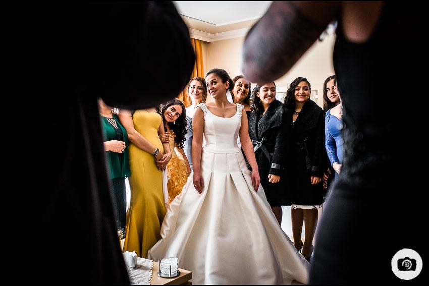 Türkische Hochzeit im Winter - Hochzeitsfotograf Essen 6