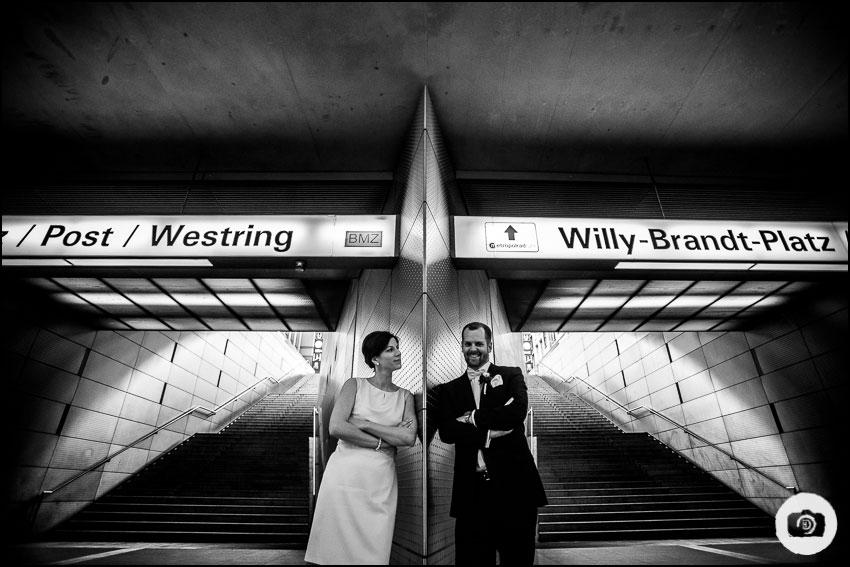 Winterhochzeit - Hochzeitsfotograf Bochum 5