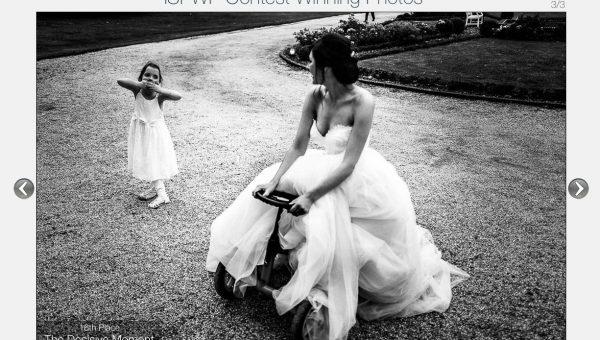 Auszeichung Hochzeitsfotograf Braut
