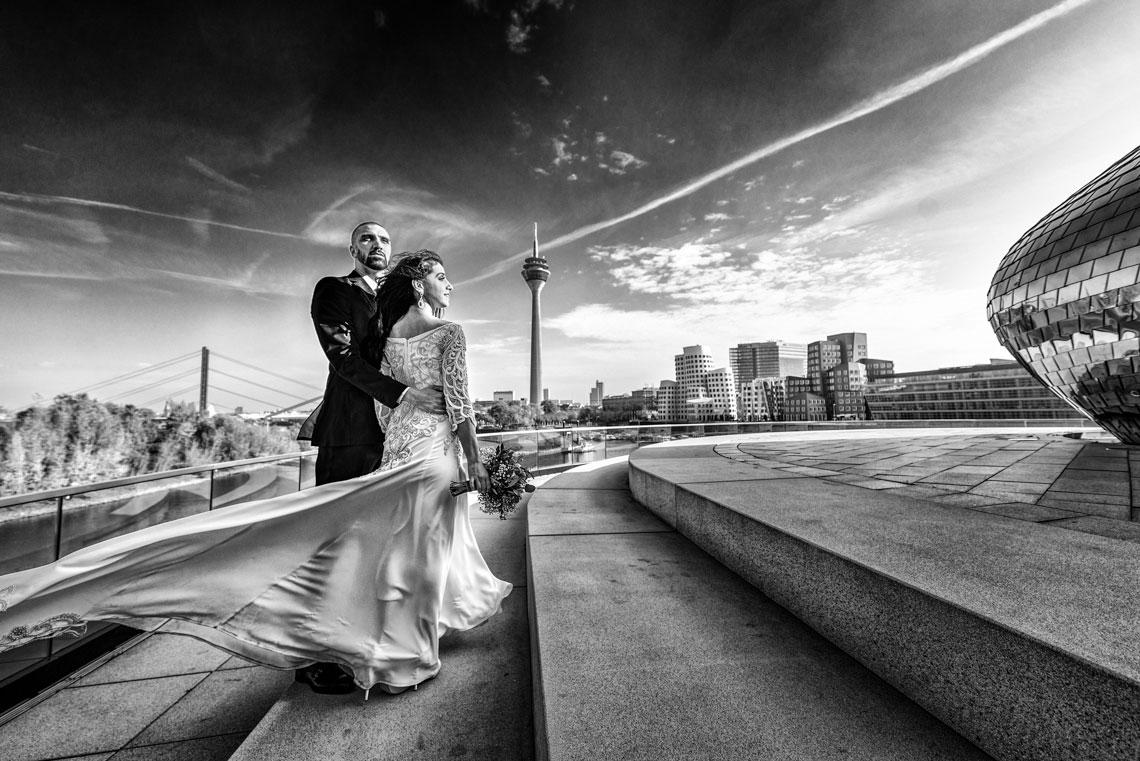 Hochzeit in Düsseldorf und Lüdenscheid