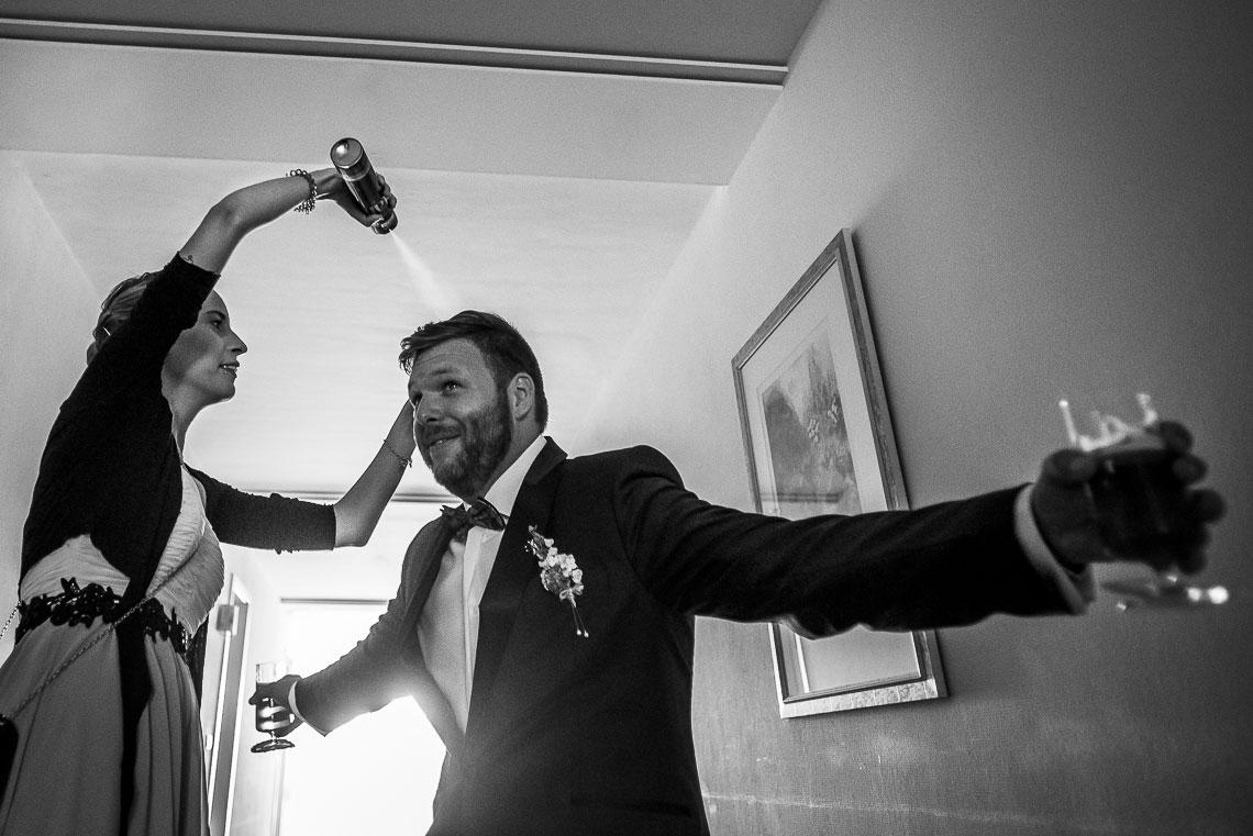 Getting-Ready Hochzeitsfotograf