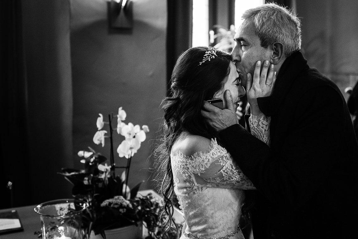 Kuss Hochzeitsfotograf