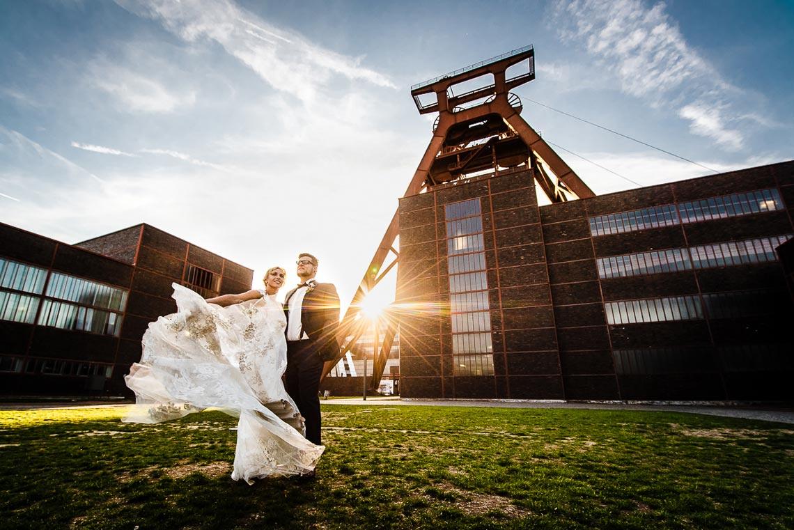Hochzeitsfotograf NRW Zeche Zollverein