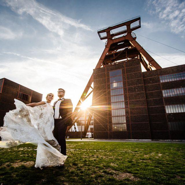 Hochzeitsfotograf Essen Zollverein