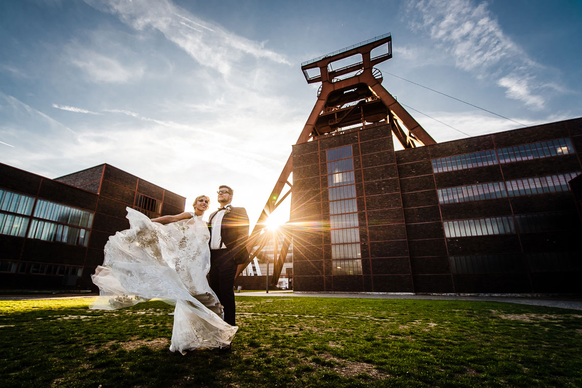 After-Wedding-Shooting Zeche Zollverein