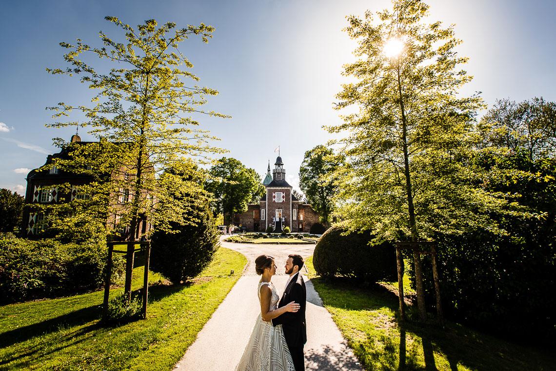 Hochzeit Schloss Hertefeld - Hochzeitsfotograf Weeze 784