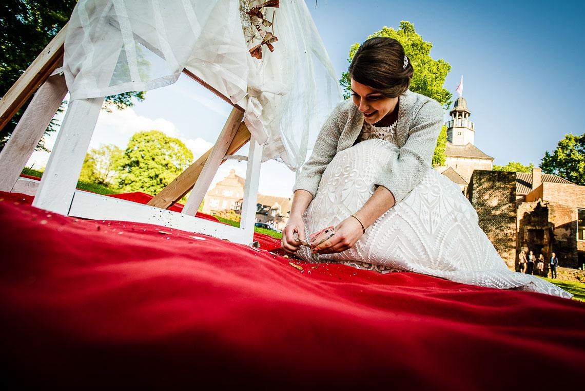 Hochzeit Schloss Hertefeld - Hochzeitsfotograf Weeze 810