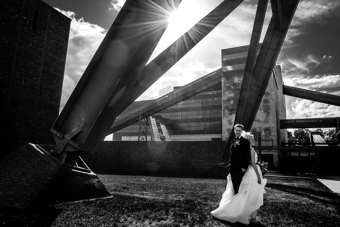 Hochzeit Zeche Zollverein - Hochzeitsfotograf Essen NRW 148