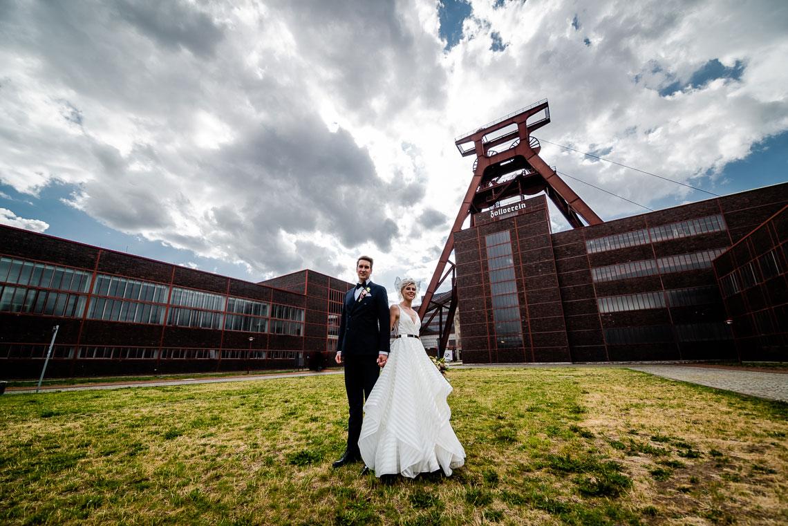Hochzeit Zeche Zollverein - Hochzeitsfotograf Essen NRW 150