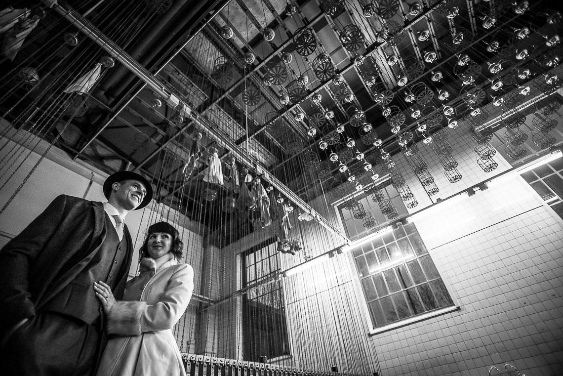 Brautpaar in Kaue Dortmund