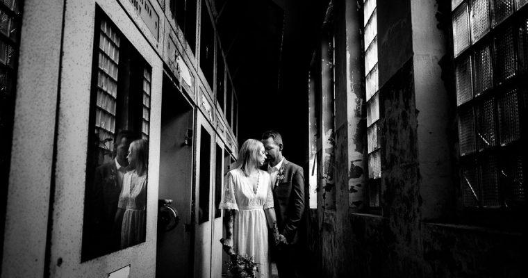 Hochzeitsfotos Lost Place Zeche Recklinghausen